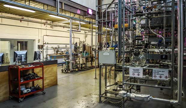Distillation Plant located at our Falkirk Campus