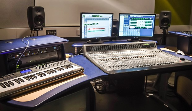Industry leading sound production equipment at our Stirling Campus