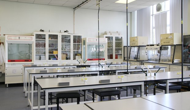 Fully equipped science laboratories