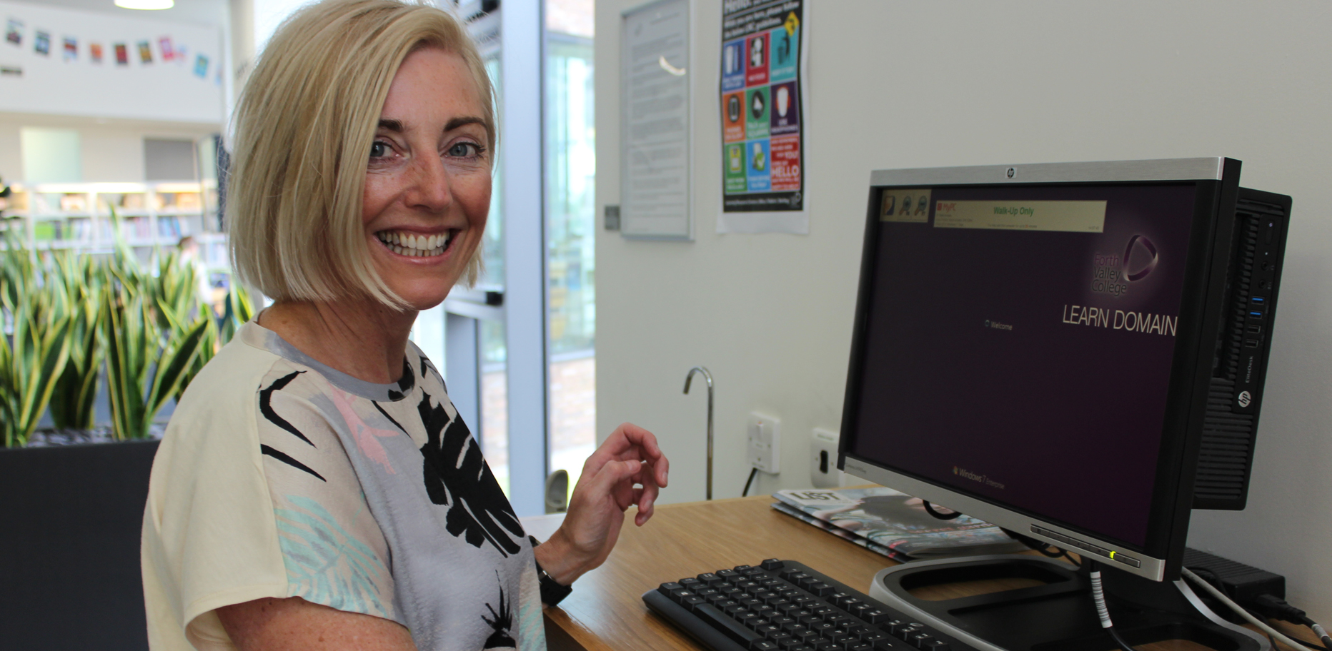 Lesley swaps Beauty for Business career