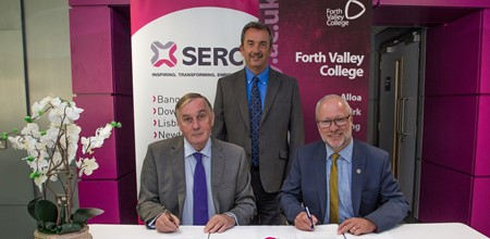 Exciting link with SERC formalised