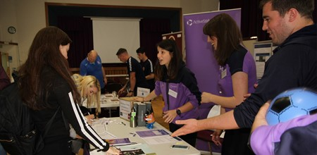 Volunteering and work experience fair proves popular