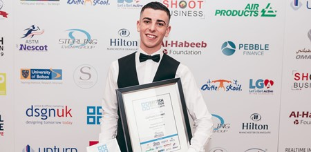 Callum wins British Education Award