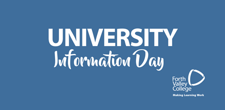 University Information Day - Alloa Campus