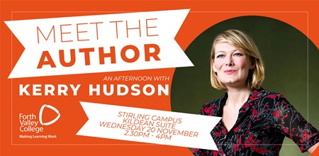 Meet the Author - An Afternoon with Kerry Hudson
