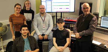 Sound Production students go on record to help Old Town Jail
