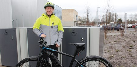 Cycling is the way forward for Stephen