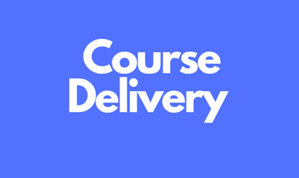 Course Delivery