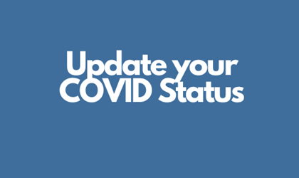 Update your COVID Status